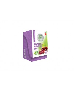 Roselle flower tea